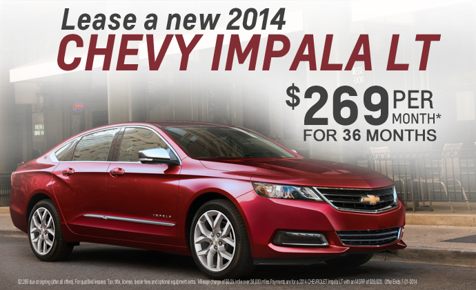 2014 Chevy Impala For Sale