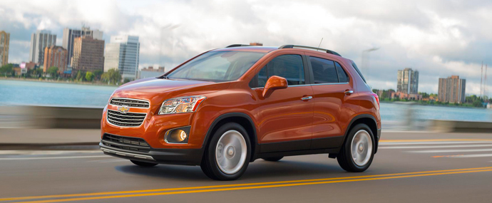 Chevy Small Suv >> Chevy Trax Small Suv Eau Claire Chevy Dealer