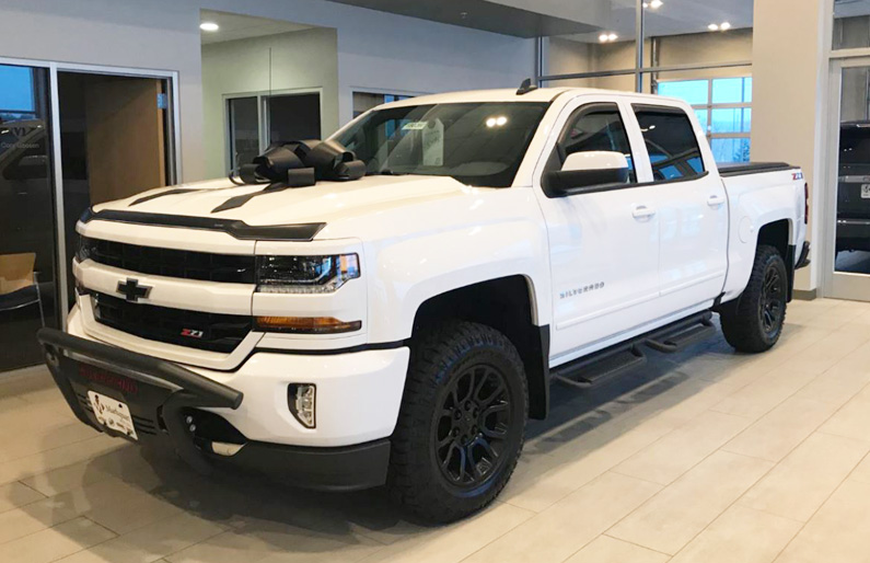 Custom Silverado Available Markquart Motors